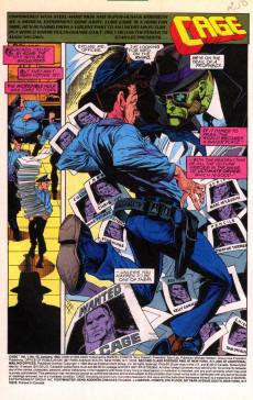Extrait de Cage Vol. 1 (Marvel - 1992) -10- Collision Course