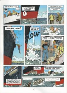 Extrait de Lefranc - La Collection (Hachette) -27- L'homme-oiseau