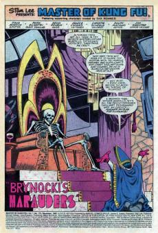 Extrait de Master of Kung Fu Vol. 1 (Marvel - 1974) -119- Brynocki's Marauders!