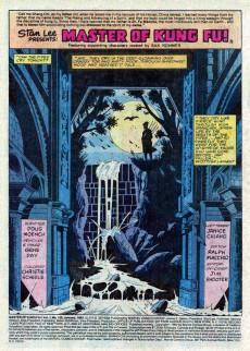 Extrait de Master of Kung Fu Vol. 1 (Marvel - 1974) -120- Dweller by the Dark Stream!