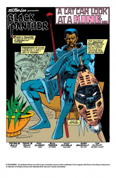 Extrait de Black Panther Vol.2 (Marvel - 1988) -4- Man, Beast, God!