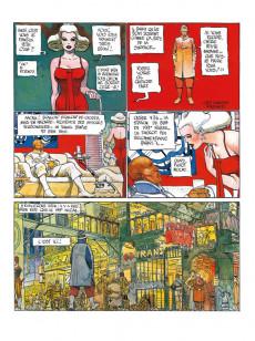 Extrait de Mœbius œuvres - La citadelle aveugle - The long tomorrow
