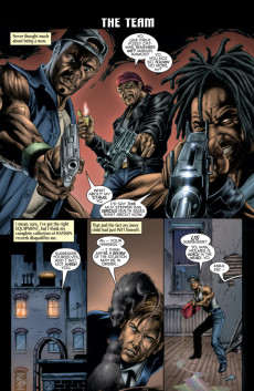 Extrait de Black Panther Vol.3 (Marvel - 1998) -7- Caged