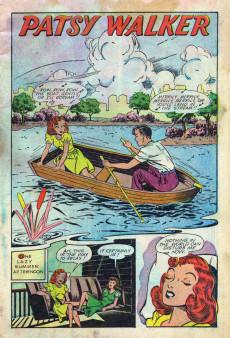 Extrait de Patsy Walker (Timely/Atlas - 1945) -7- Patsy Walker