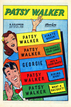 Extrait de Patsy Walker (Timely/Atlas - 1945) -8- Patsy Walker