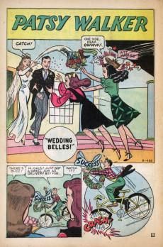 Extrait de Patsy Walker (Timely/Atlas - 1945) -10- Wedding Belles!