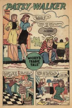 Extrait de Patsy Walker (Timely/Atlas - 1945) -18- (sans titre)