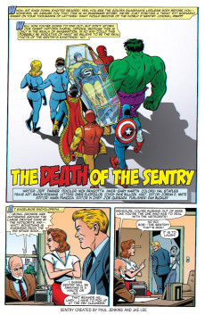 Extrait de Age of The Sentry (The) (Marvel - 2008) -6- The Sentry vs. Death!