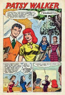 Extrait de Patsy Walker (Timely - 1945) -42- (sans titre)