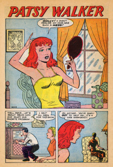Extrait de Patsy Walker (Timely/Atlas - 1945) -44- (sans titre)