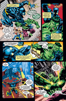 Extrait de Black Panther Vol.3 (Marvel - 1998) -15- Hulk Smash!