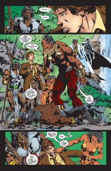 Extrait de Black Panther Vol.3 (Marvel - 1998) -21- Quest for Khonshu in the Land of the Dead...