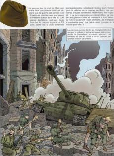 Extrait de Lefranc - La Collection (Hachette) -VII- La chute du reich