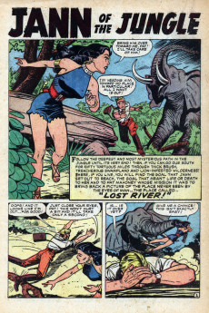 Extrait de Jann of the Jungle (Atlas - 1955) -9- With Fang and Talons!