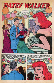 Extrait de Patsy Walker (Timely/Atlas - 1945) -46- (sans titre)