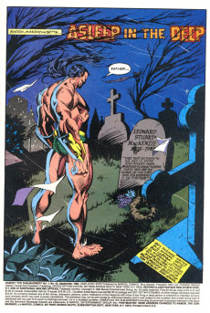 Extrait de Namor, The Sub-Mariner (Marvel - 1990) -42- Slugfest in the Sea! Guest Starring Stingray!!!