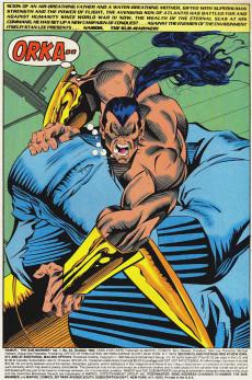 Extrait de Namor, The Sub-Mariner (Marvel - 1990) -43- Rage at 40,000 Fathoms!