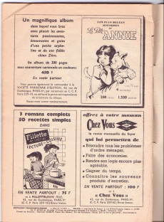 Extrait de Fillette (Après-guerre) -HS58/12- N° spécial de Noël
