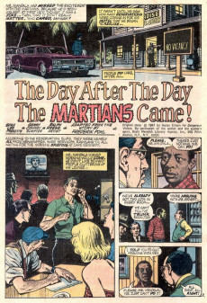 Extrait de Worlds Unknown (Marvel - 1973) -1- The Coming of the Martians!