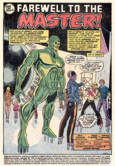 Extrait de Worlds Unknown (Marvel - 1973) -3- The Day the Earth Stood Still!