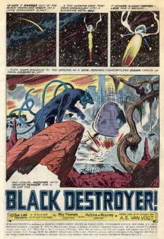 Extrait de Worlds Unknown (Marvel - 1973) -5- Black Destroyer!
