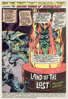 Extrait de Worlds Unknown (Marvel - 1973) -8- The Golden Voyage of Sinbad!