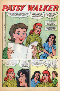 Extrait de Patsy Walker (Timely/Atlas - 1945) -84- (sans titre)