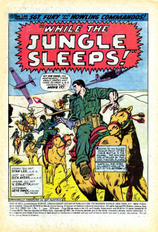 Extrait de War is Hell (Marvel - 1973) -7- While the Jungle Sleeps!