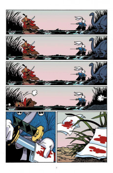 Extrait de Usagi Yojimbo (en couleur) -2- Livre second : Samouraï