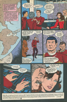 Extrait de Star Trek (1989) (DC comics) -10- Opening Arguments