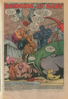 Extrait de Justice League Europe (1989) -12- Like Father... Like Son?
