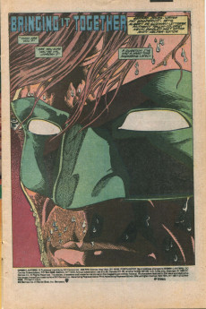 Extrait de Green lantern (1990) -8- Bringing It Together