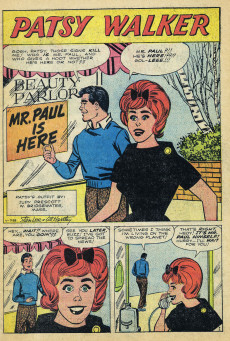 Extrait de Patsy Walker (Timely/Atlas - 1945) -101- Patsy Becomes a Millionairess!