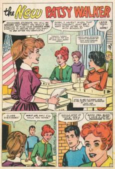 Extrait de Patsy Walker (Timely/Atlas - 1945) -107- The New Patsy Walker!