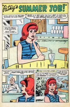 Extrait de Patsy Walker (Timely/Atlas - 1945) -110- Patsy's Summer Job