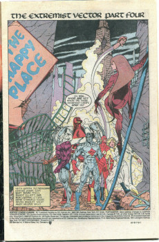 Extrait de Justice League Europe (1989) -18- The Extremist Vector, Part Four: The Happy Place