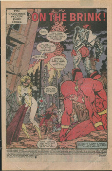 Extrait de Justice League Europe (1989) -17- The Extremist Vector, Part Three: On the Brink!
