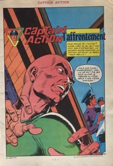 Extrait de Captain Action -2- Captain Action 2