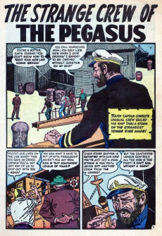 Extrait de Strange Stories of Suspense (Marvel - 1955) -8- Thumbs Down!; The Strange Crew of the Pegasus!; Is There Any Escape from a