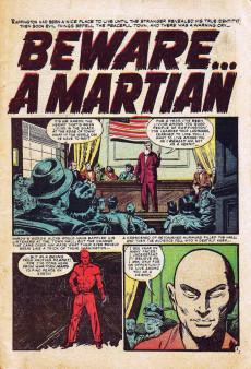 Extrait de Strange Stories of Suspense (Marvel - 1955) -14- Someone Waits in the Trunk!