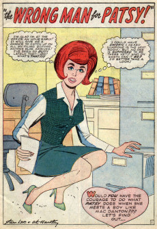 Extrait de Patsy Walker (Timely/Atlas - 1945) -118- The Wrong Man for Patsy!