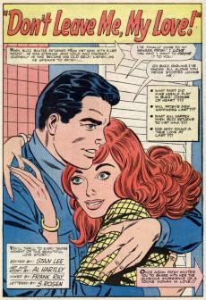 Extrait de Patsy Walker (Timely/Atlas - 1945) -123- Don't Leave Me, My Love!