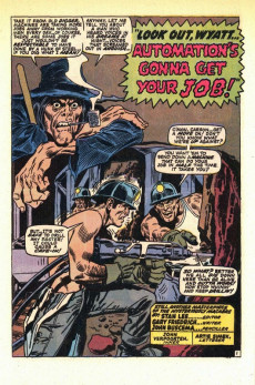 Extrait de Tower of Shadows (Marvel - 1969) -2- The Menace of... the Hungry One!