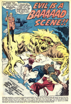 Extrait de Tower of Shadows (Marvel - 1969) -4- Within the Witching Circle!