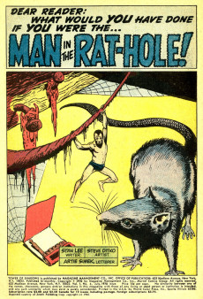 Extrait de Tower of Shadows (Marvel - 1969) -6- Pray for... the Man in the Rat Hole!