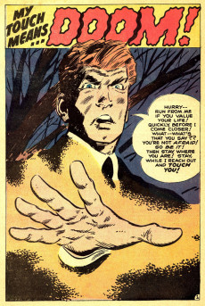 Extrait de Tower of Shadows (Marvel - 1969) -8- They Lurk within the Tomb!