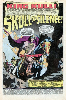 Extrait de Creatures on the Loose (Marvel - 1971) -10- The Skull of Silence!