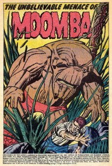 Extrait de Creatures on the Loose (Marvel - 1971) -11- Moomba is Here!