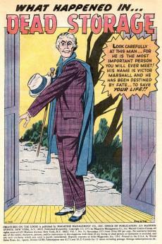 Extrait de Creatures on the Loose (Marvel - 1971) -14- Dead Storage