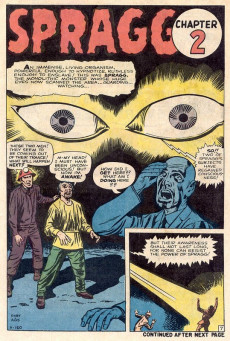 Extrait de Creatures on the Loose (Marvel - 1971) -15- Spragg! The Living Mountain!